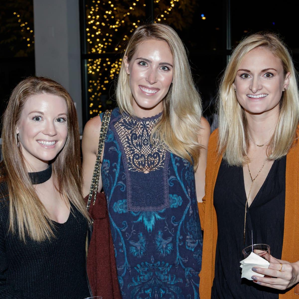 Cayla Sartaine, Baylee Belflower, Aubrie Hancock