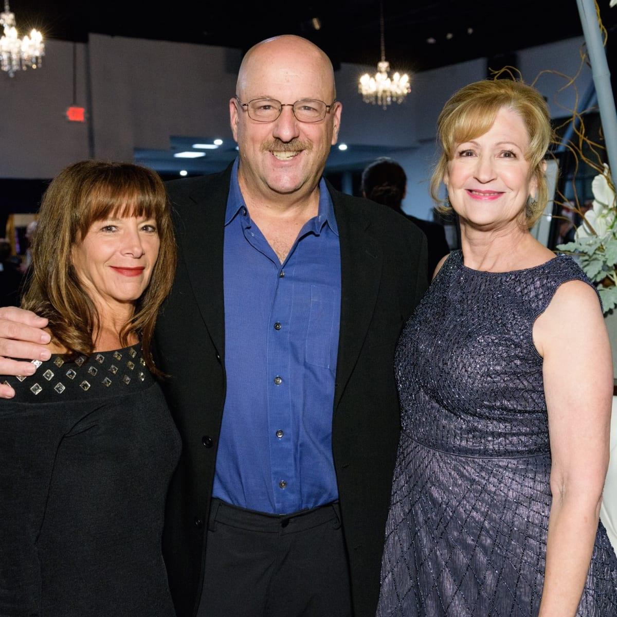 Halo House gala Fran and Lou Kleinman, gala co-chair Dena Wilson