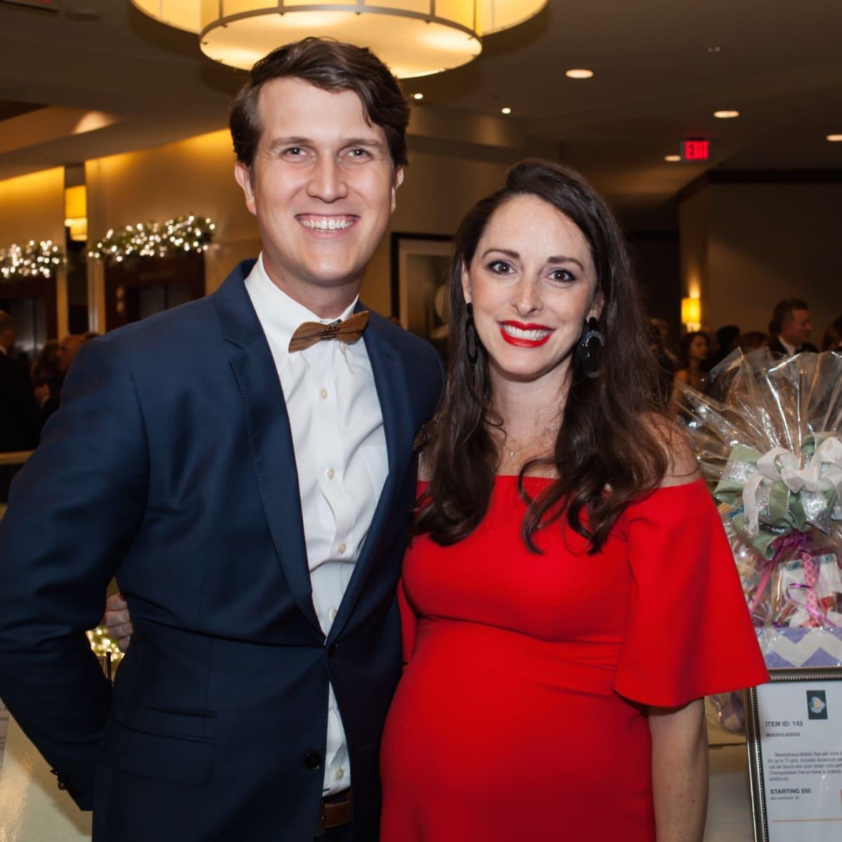 David and Lauren Baker at Elijah Rising Gala