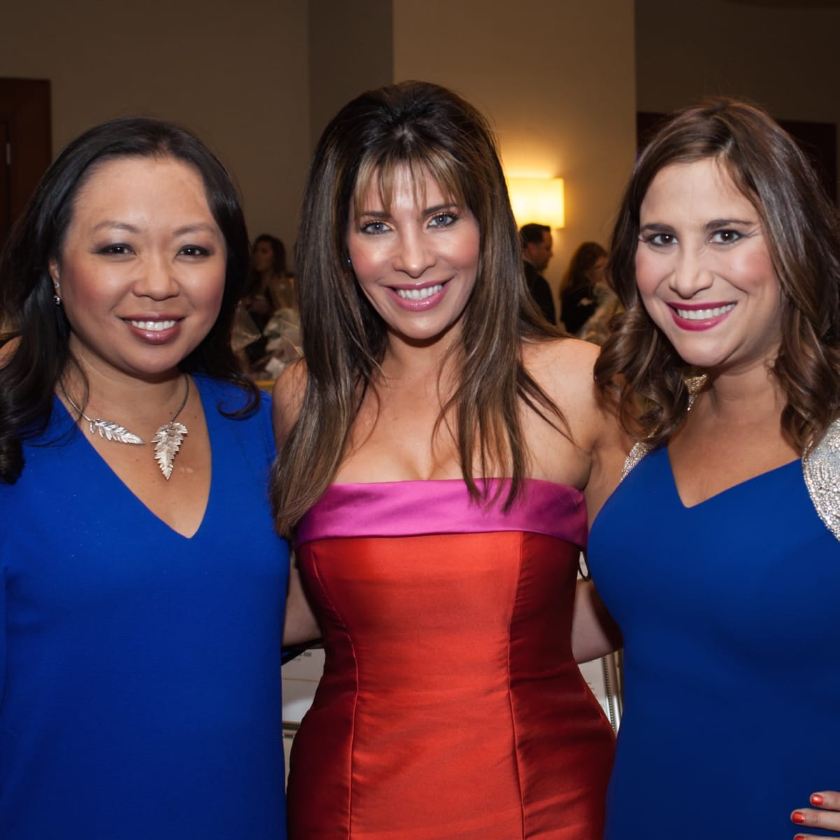 Miya Shay, Claudia Sierra, Jacqueline Smook at Elijah Rising Gala