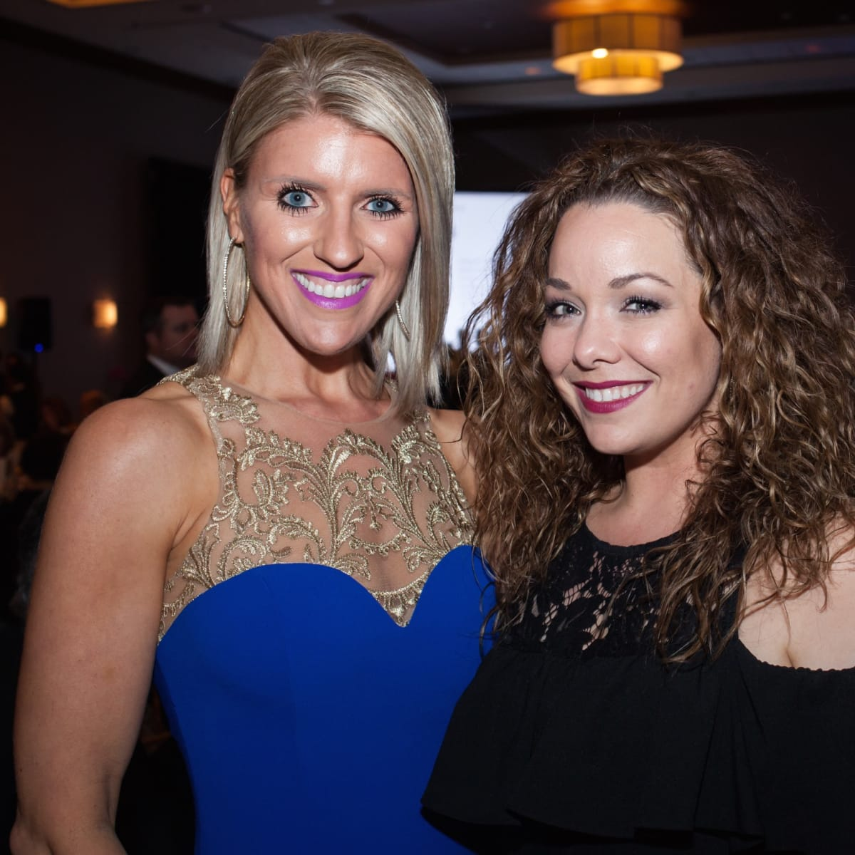 Rescue Houston founder Allison Madrigal and Tiffany Pardue at Elijah Rising Gala