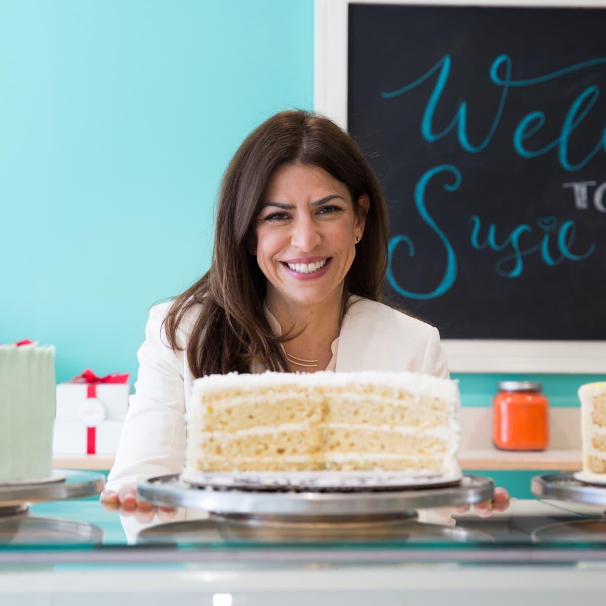 Susie Cakes owner Susan Sarich