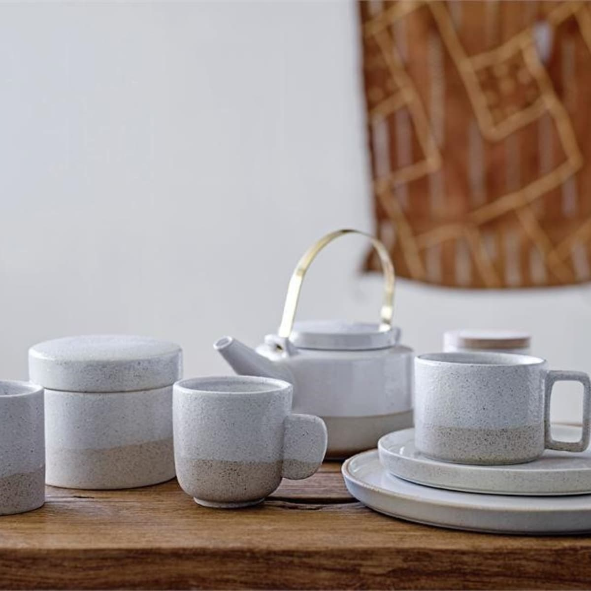 Tea set from Neighborhood, Holiday Pop-up 2017