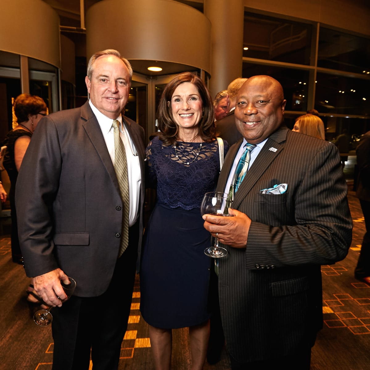 Houston, Bush Library Foundation dinner, November 2017, Betty Welsh, Mark Welsh, Frank Ashley