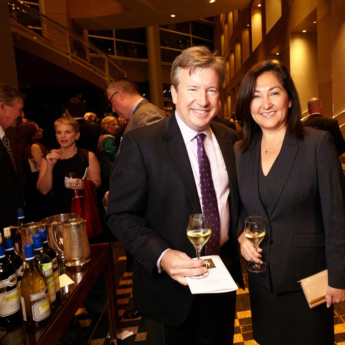 Houston, Bush Library Foundation dinner, November 2017, Paulina McGrath, Jim McGrath