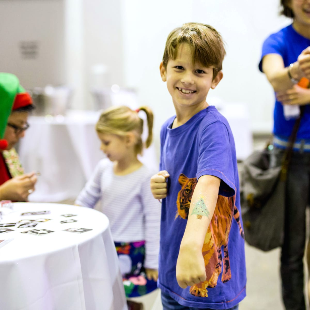 Houston, CultureMap Holiday Pop-Up Shop, November 2017, kids zone