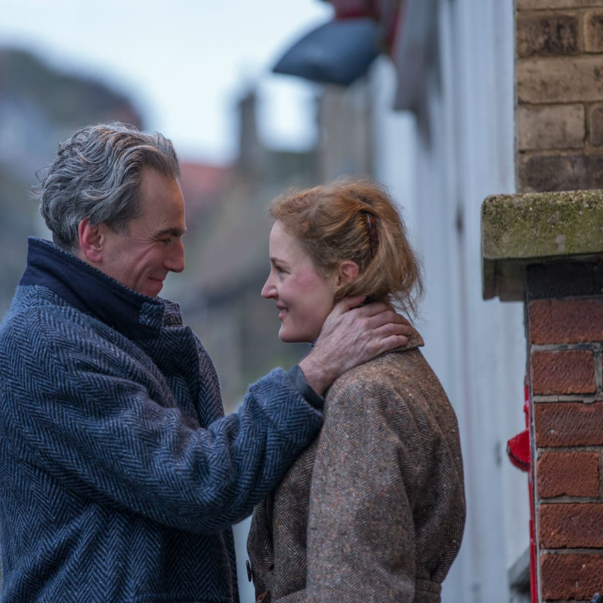 Daniel Day-Lewis and Vicky Krieps in Phantom Thread