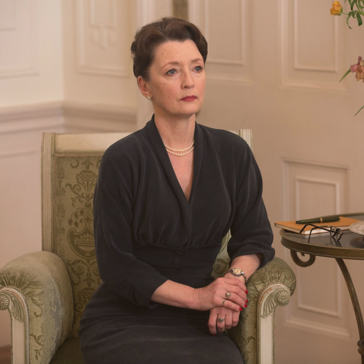 Lesley Manville in Phantom Thread