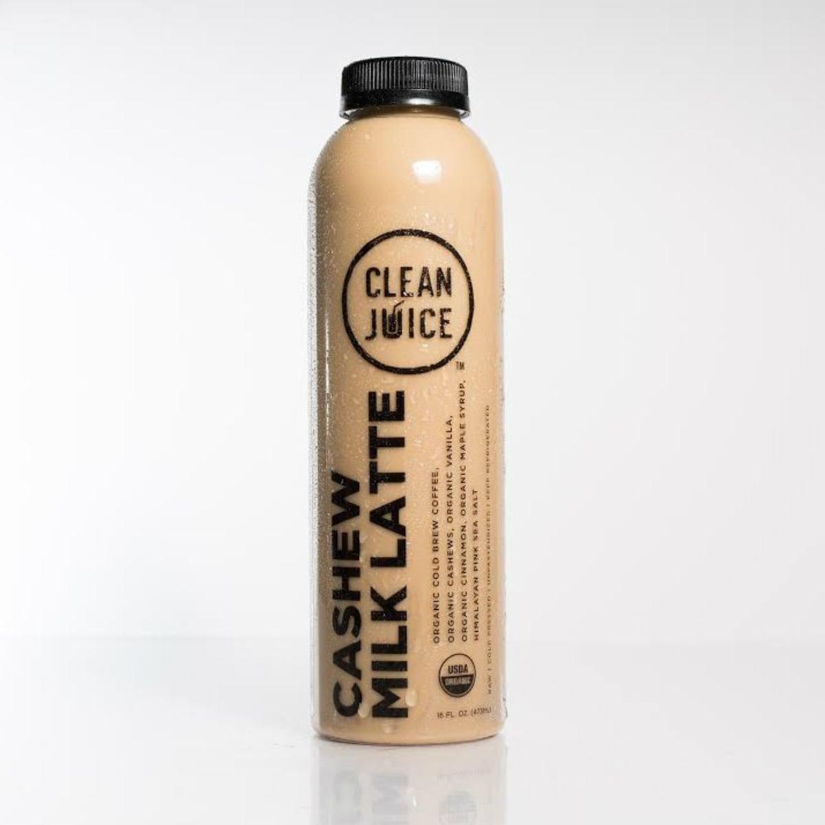 Cashew milk latte