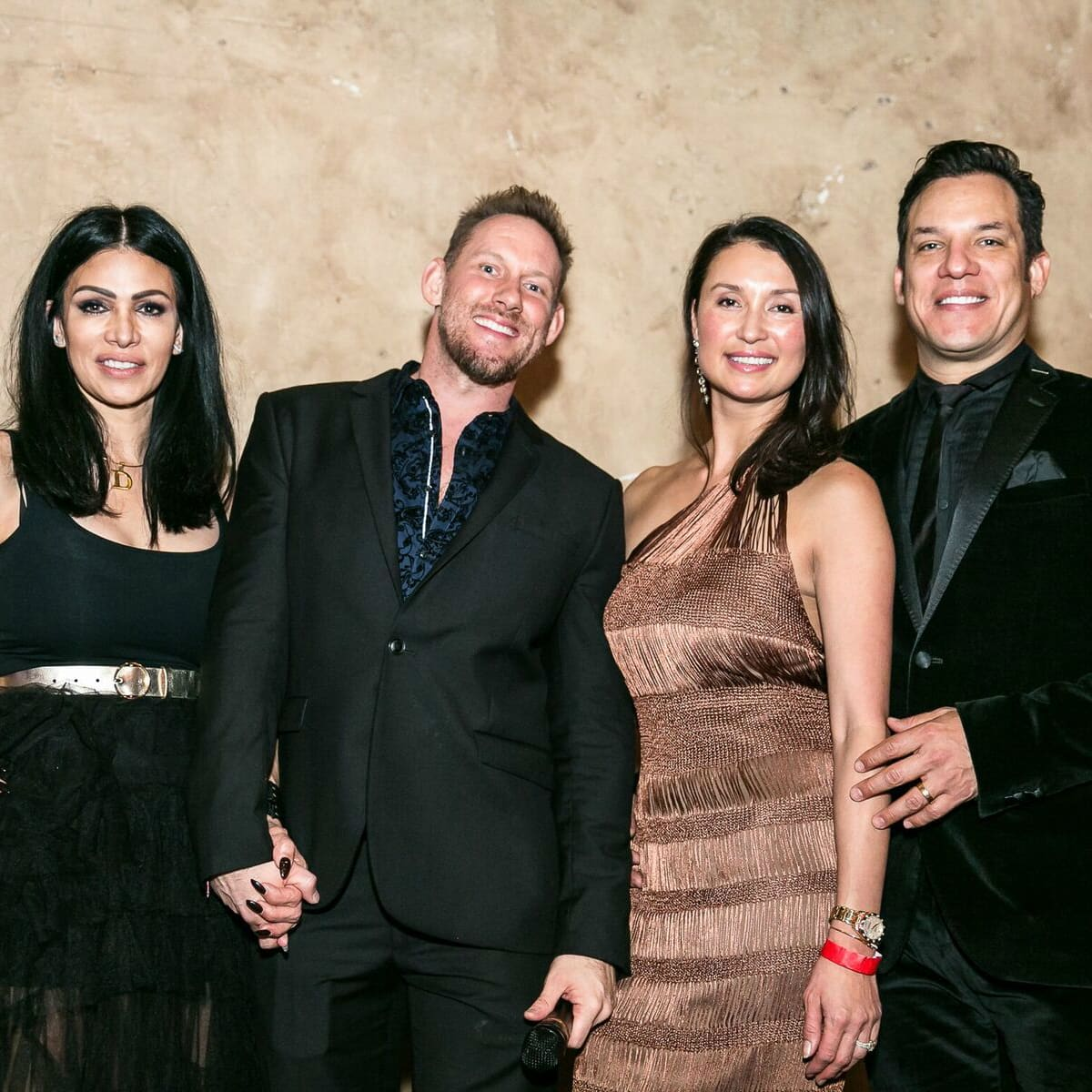 Holiday Soiree - party pic - guests