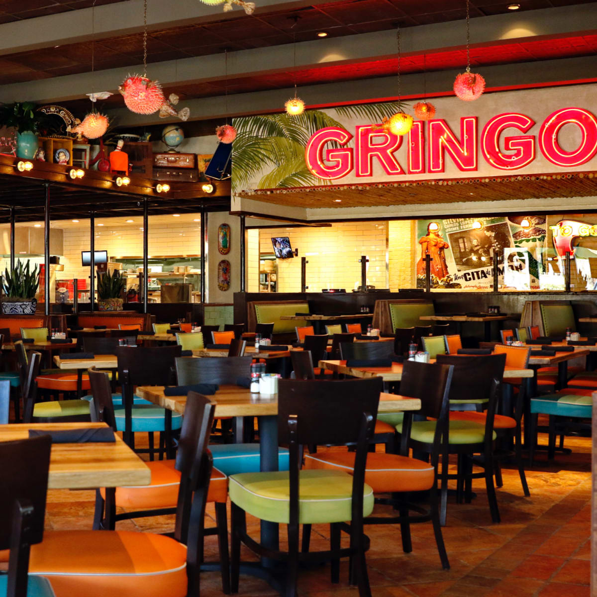 Gingo's Mexican Kitchen Champions interior