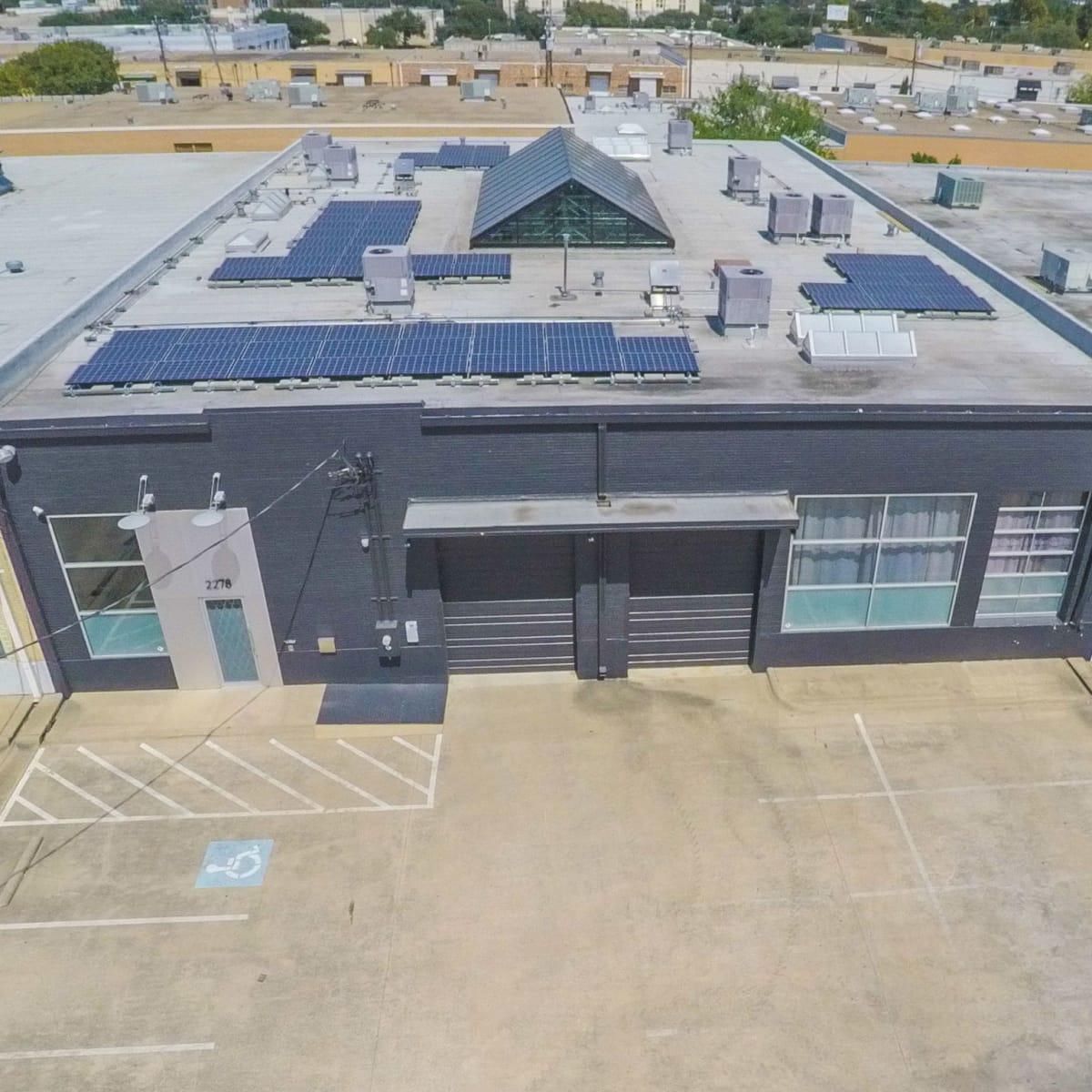 2278 Monitor Street, Dallas Design District warehouse, exterior