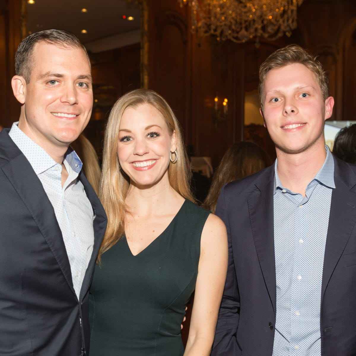 Chris and Meredith Rector and Gerrit Van Someren
