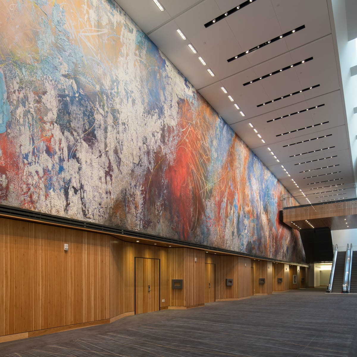 AT&T Rowling Hall Mural