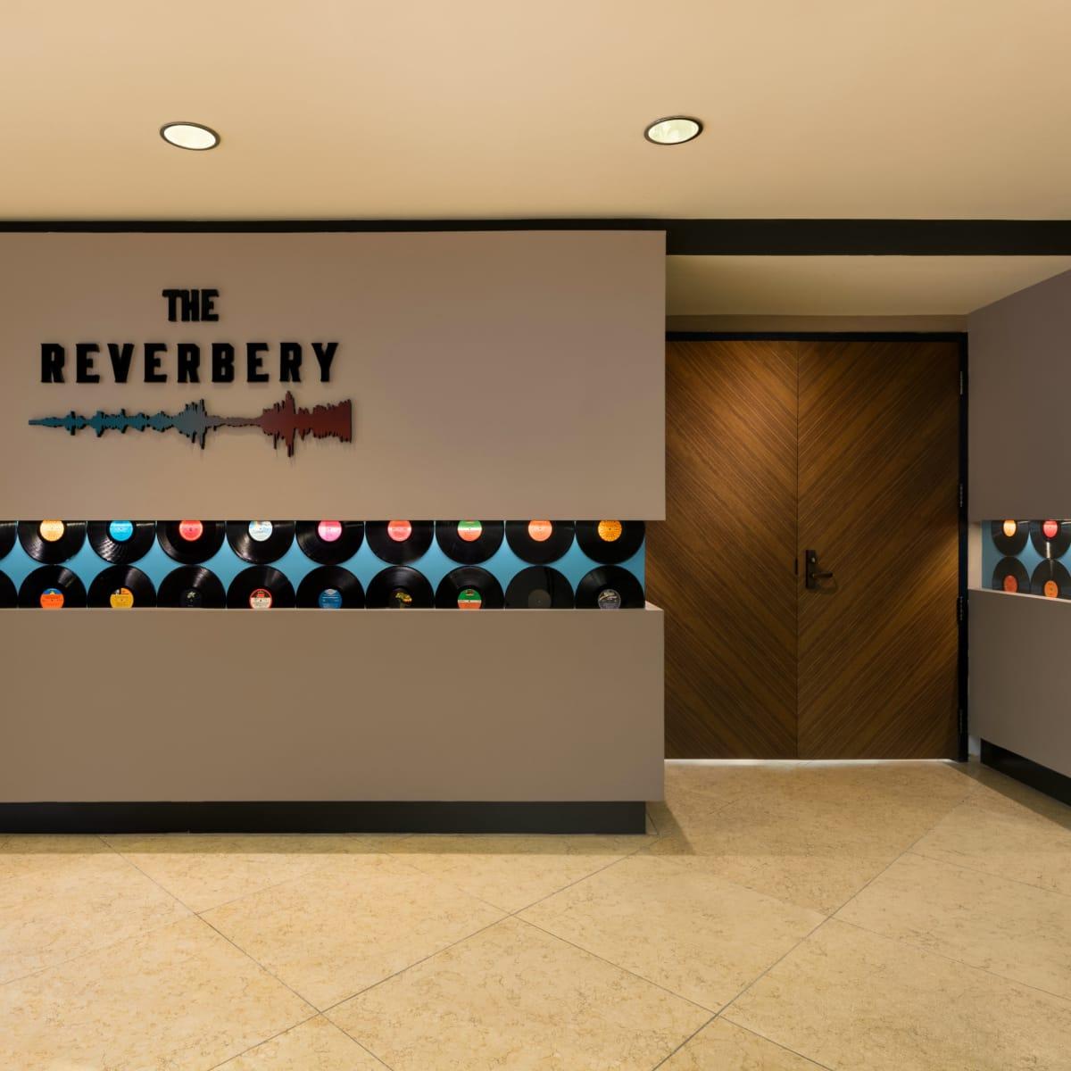The Reverbery venue entrance