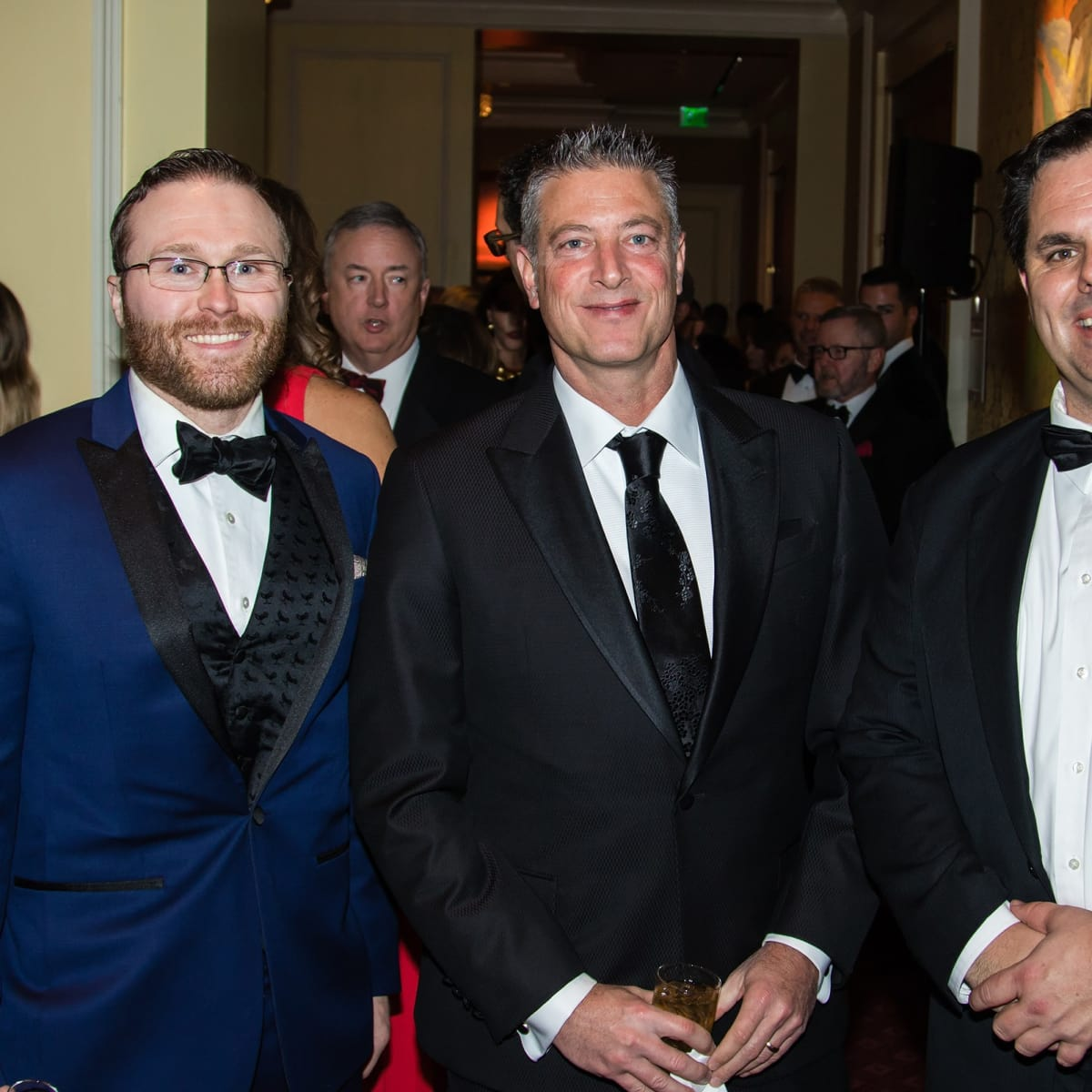 David McAdams, Jeremy Lock, Mike Heaton, Unicef gala 2018