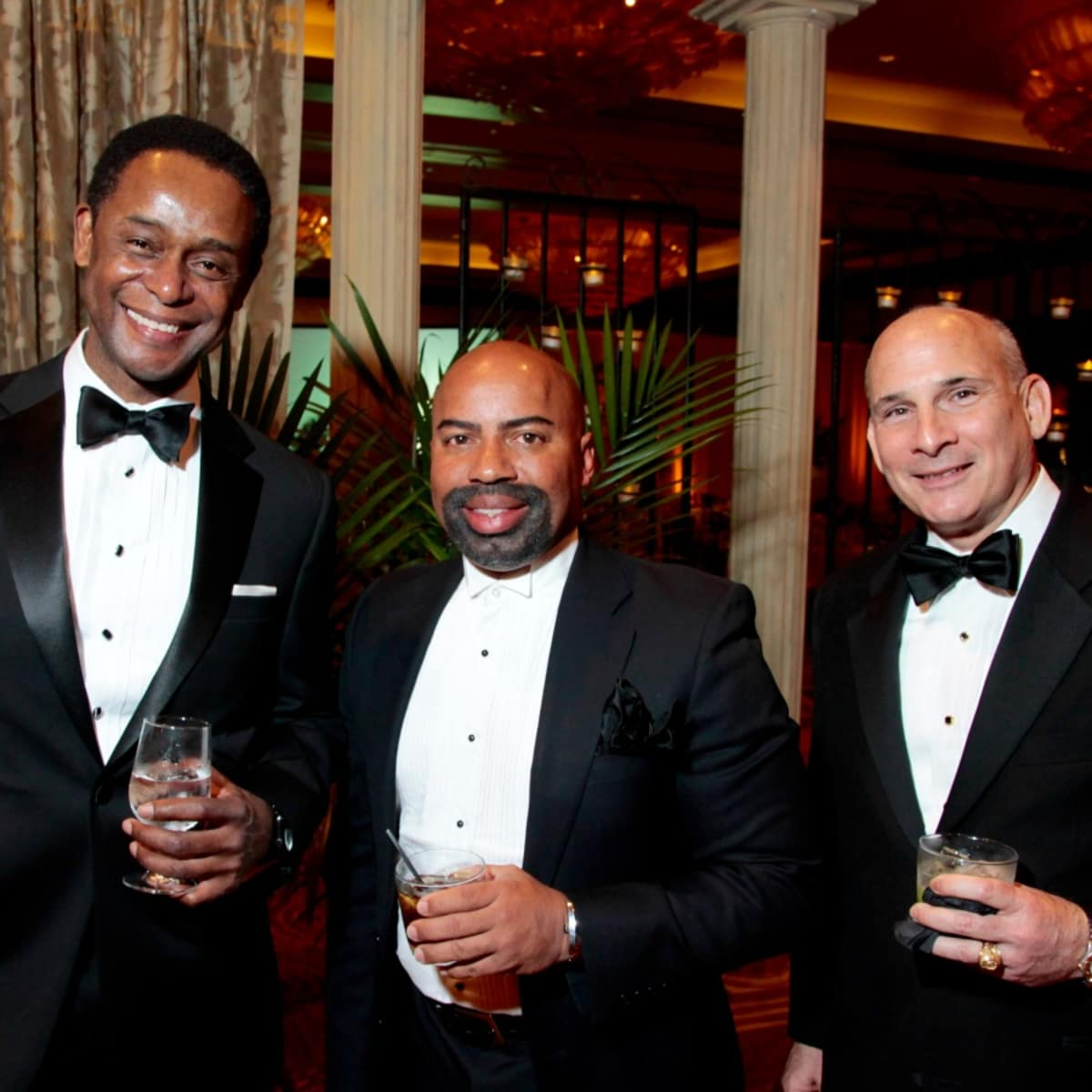 Houston, West University Park Lovers' Ball, February 2018, Charles Williams, Ron Stewart, Chris Harris