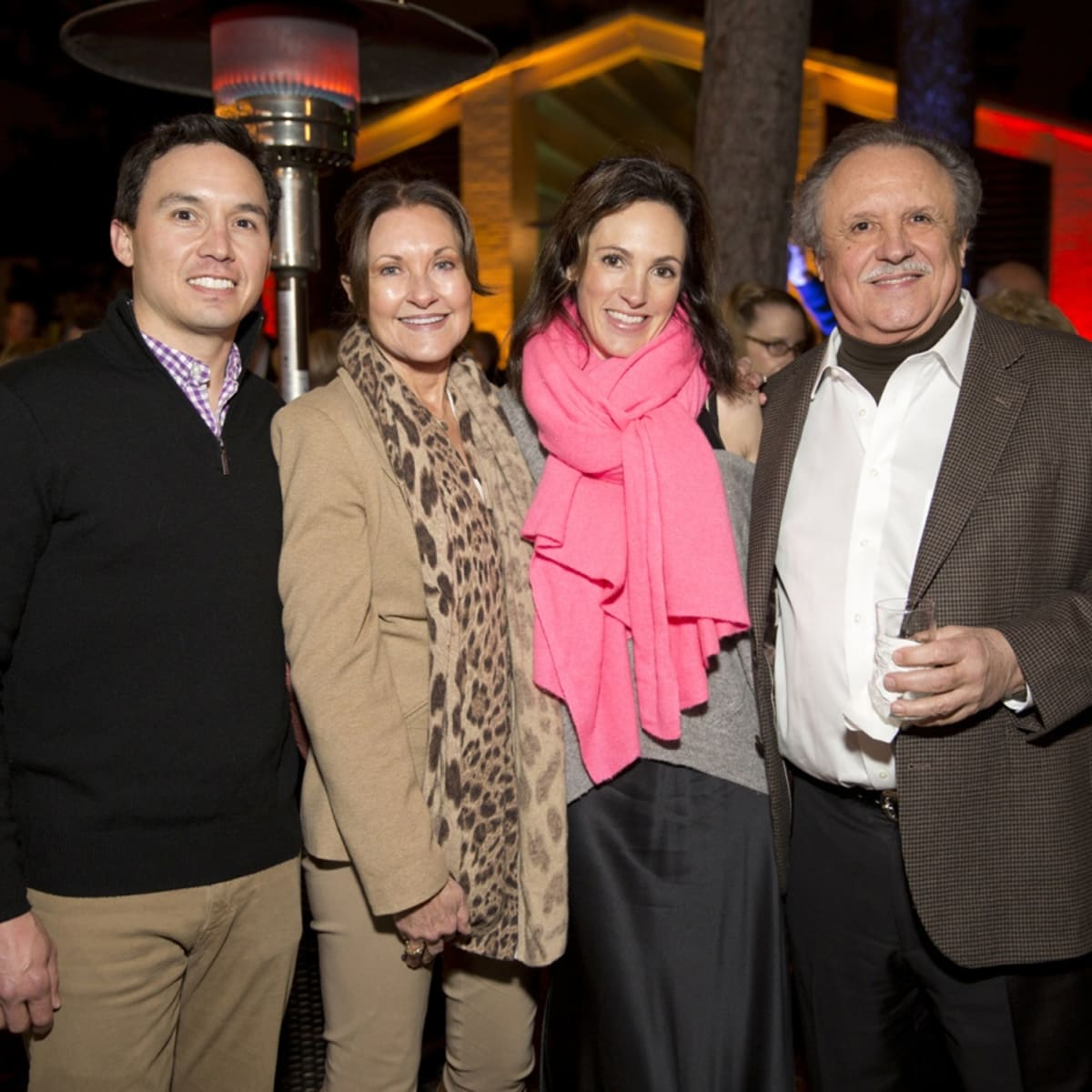 Houston, Memorial Park Conservancy Picnic for the Park, February 2018, Alex Mousoudakis, Margaret Morris, Lindsay Mousoudakis, Ben Morris