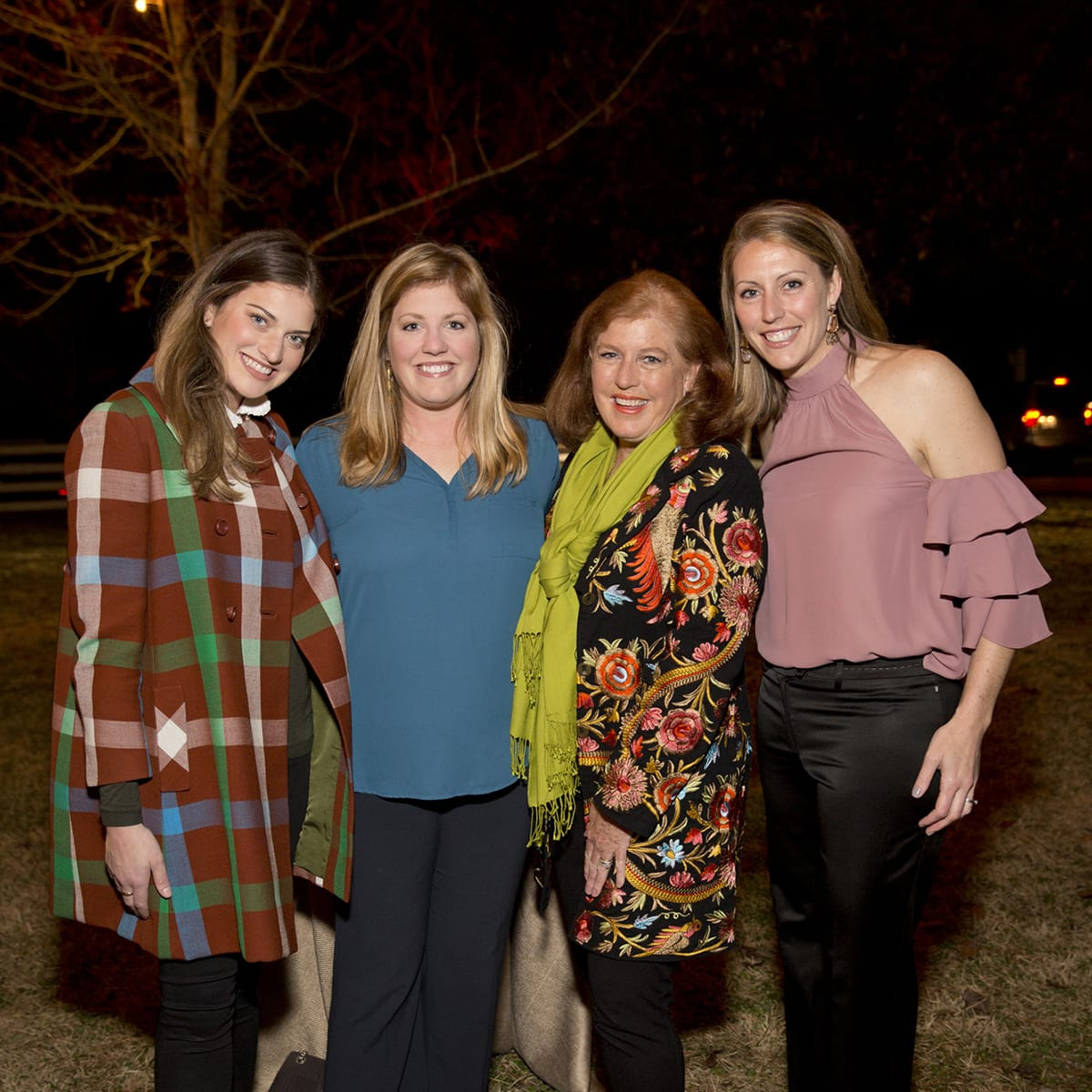 Houston, Memorial Park Conservancy Picnic for the Park, February 2018, Molly Jodeit, Jamie Ratliff, Cathy Jodiet, Jennifer Daly