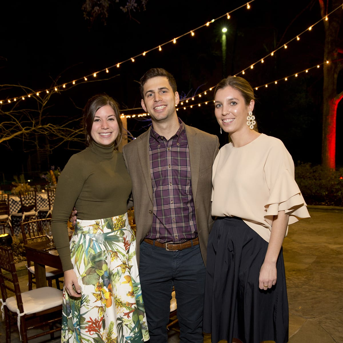Houston, Memorial Park Conservancy Picnic for the Park, February 2018, Maddox Lamme, Ben Atnipp, Alexa White