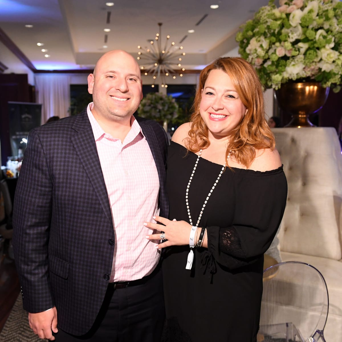 Houston, ZaZa Memorial City grand opening, February 2018, Luis Gomar, Stacey Gomar