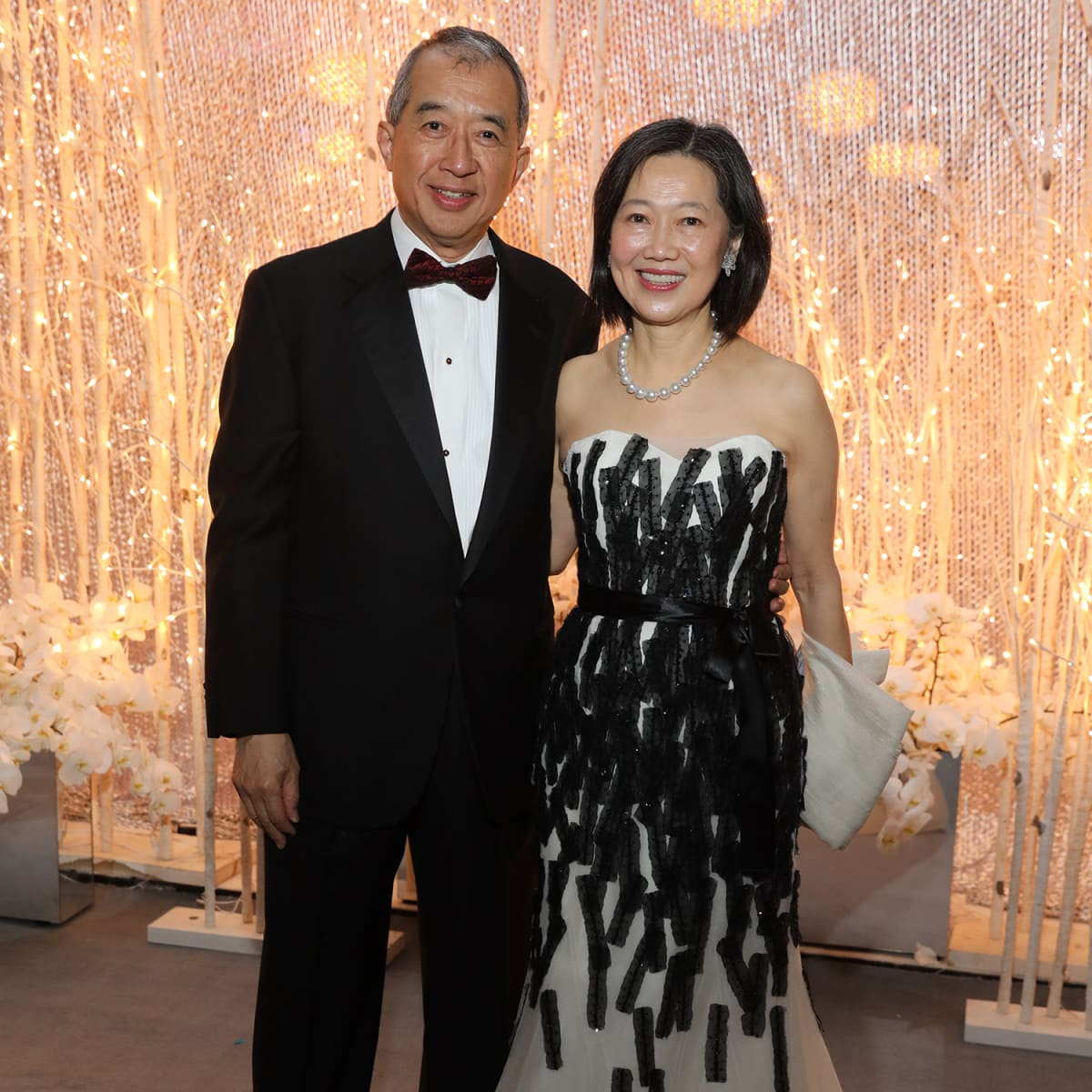 Houston, Ballet Ball, February 2018, Albert Chao, Anne Chao