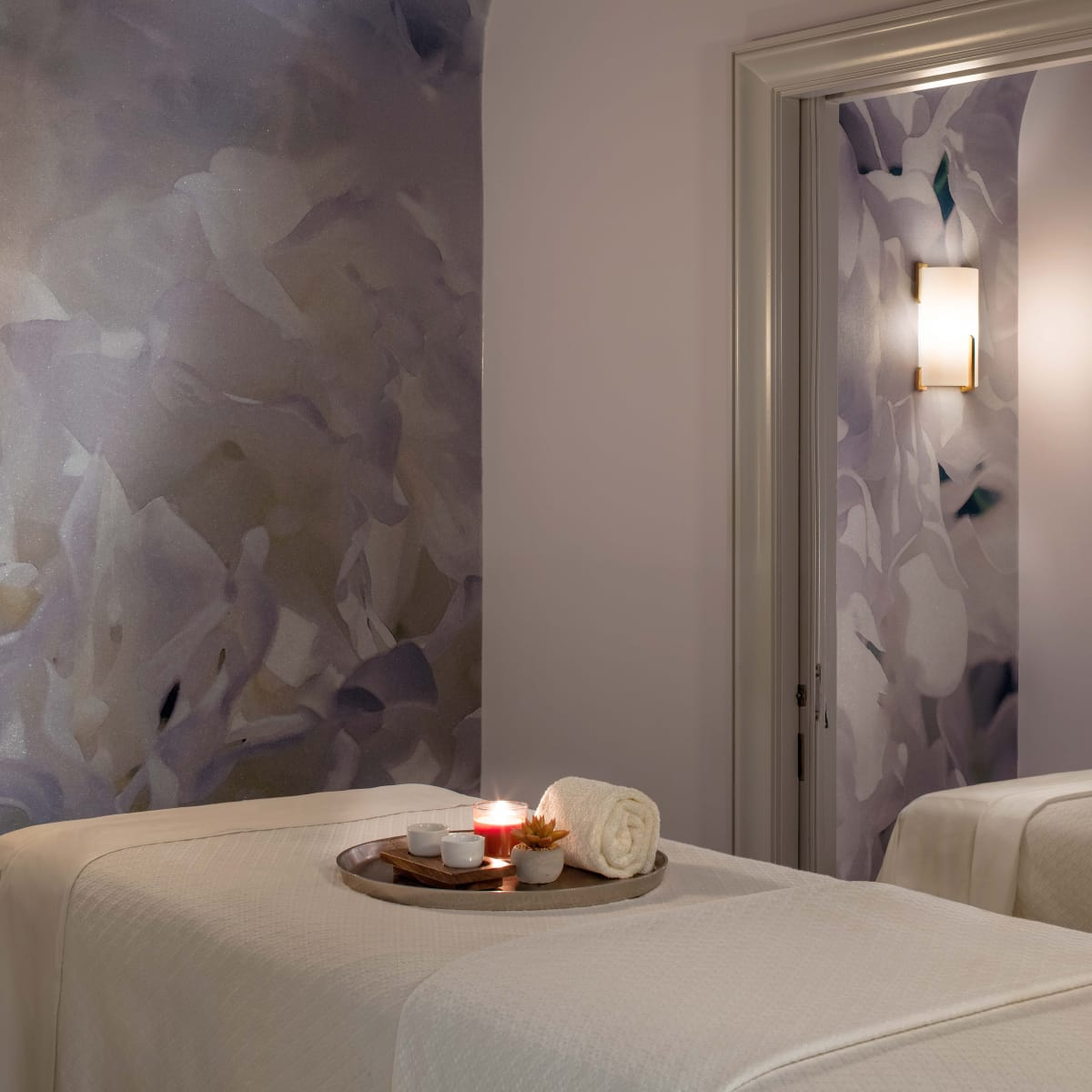 Couples treatment room, Spa at Hotel Crescent Court