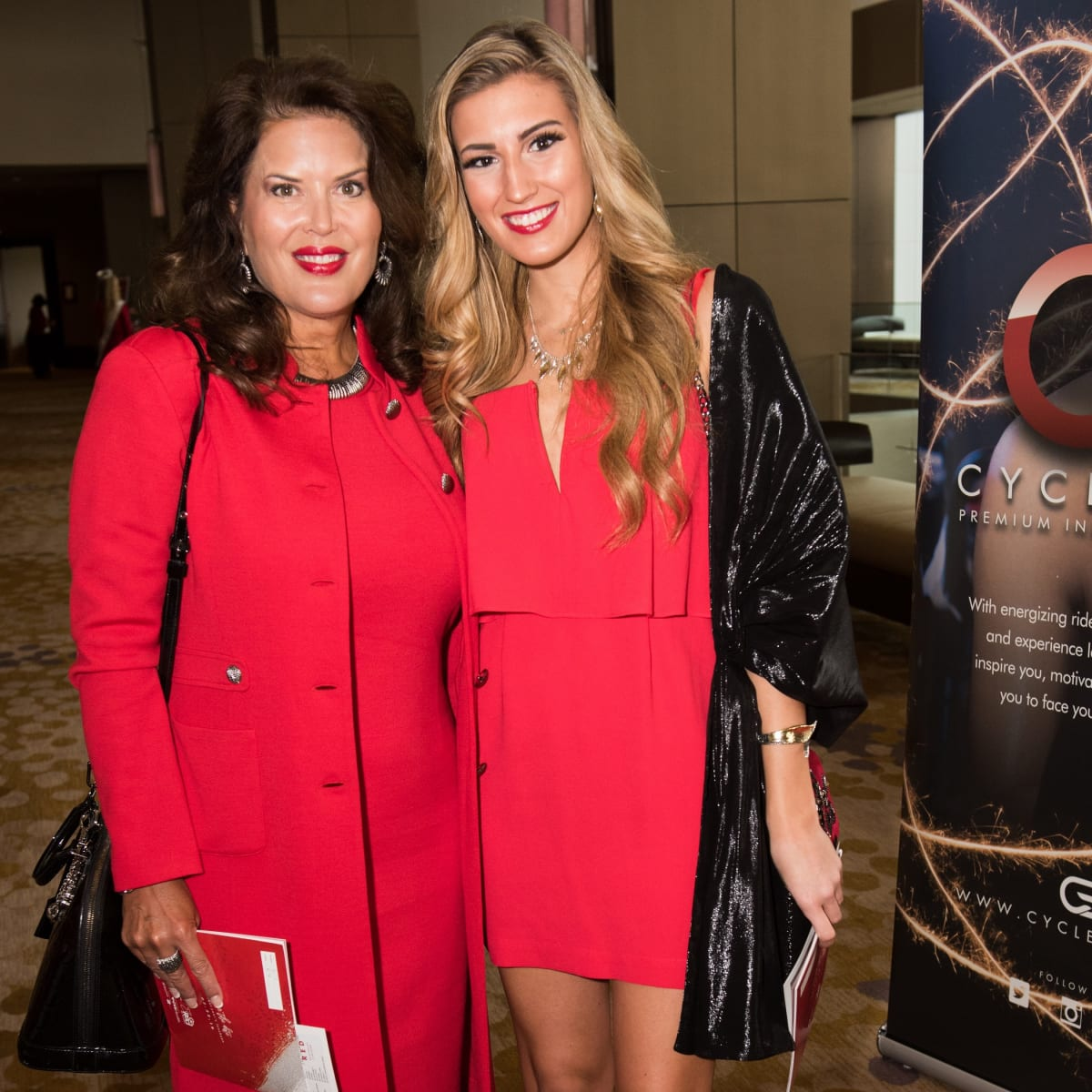 Kelly Pfeil, Madeline Sepcic, Go Red for Women 2018