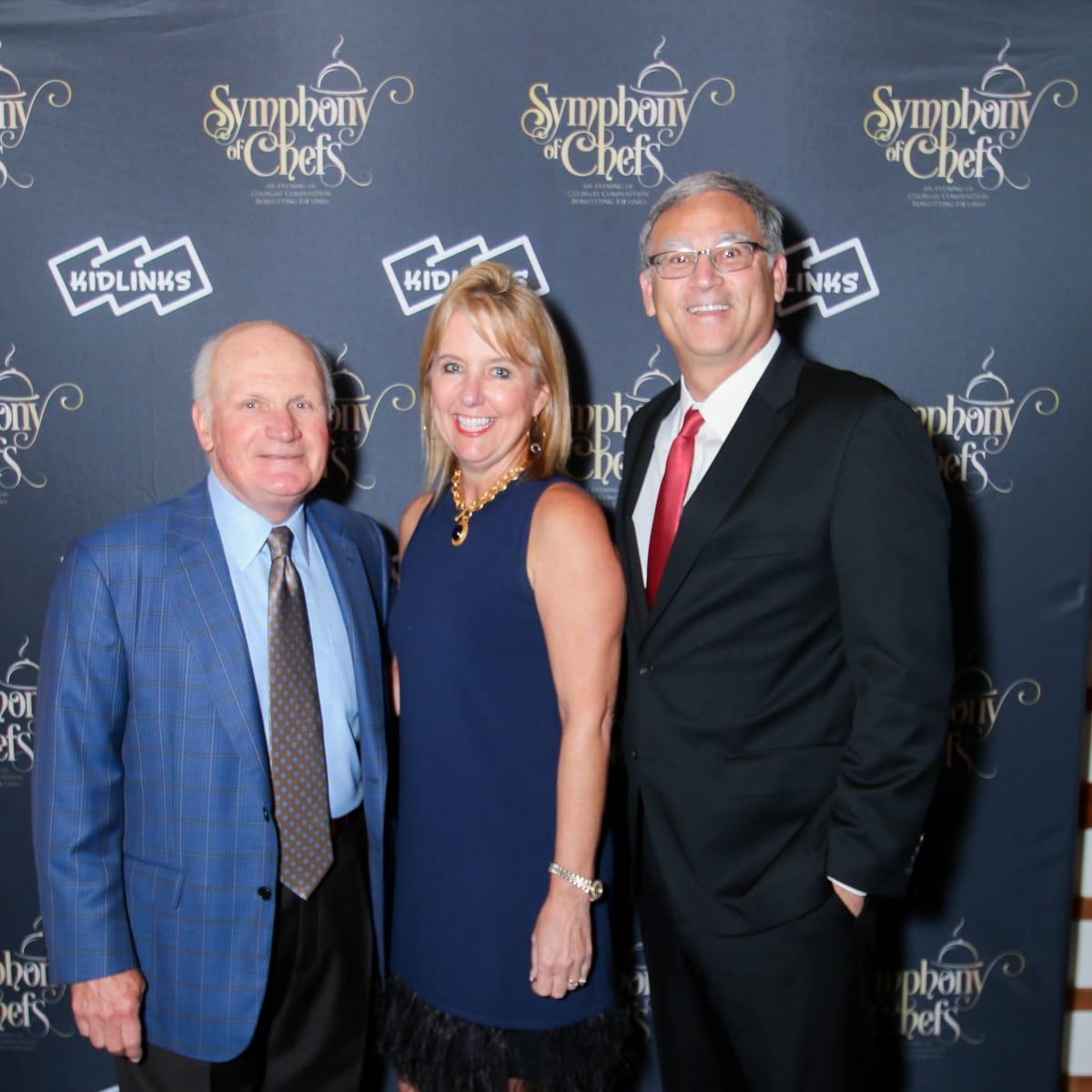 JW Brown, Bonnie Shea, Nathan Shea, Symphony of Chefs 2018