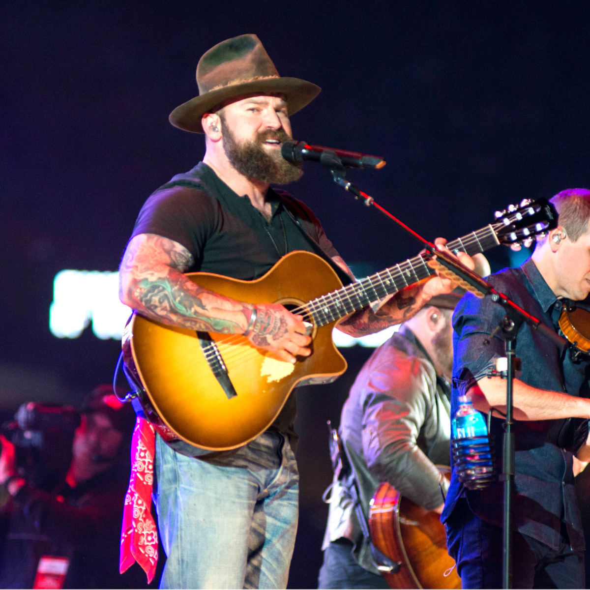 Zac Brown Band trio fiddler