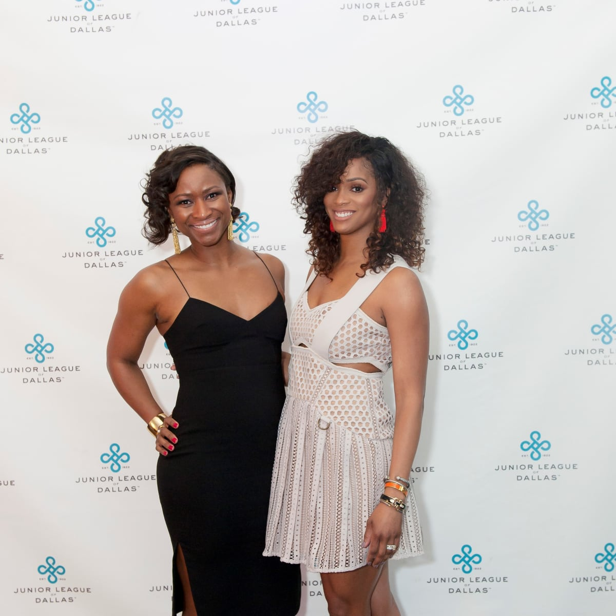 Junior League Viva Big D party 2018, Lashell Nelson and Constance Cherones