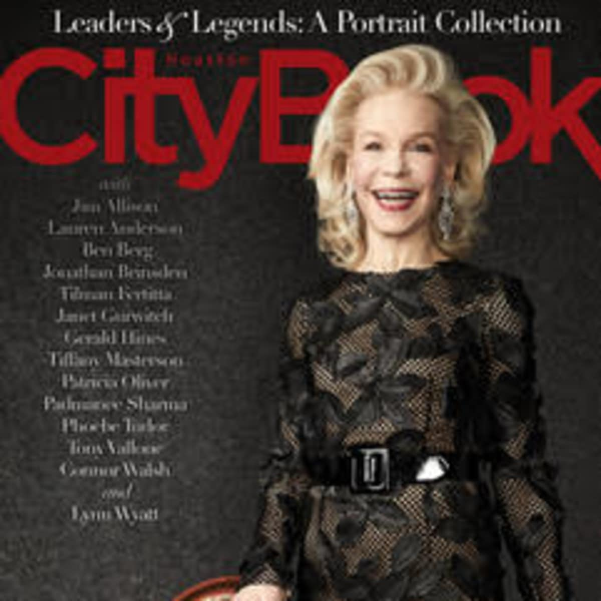 CityBook April 2018 cover Lynn Wyatt