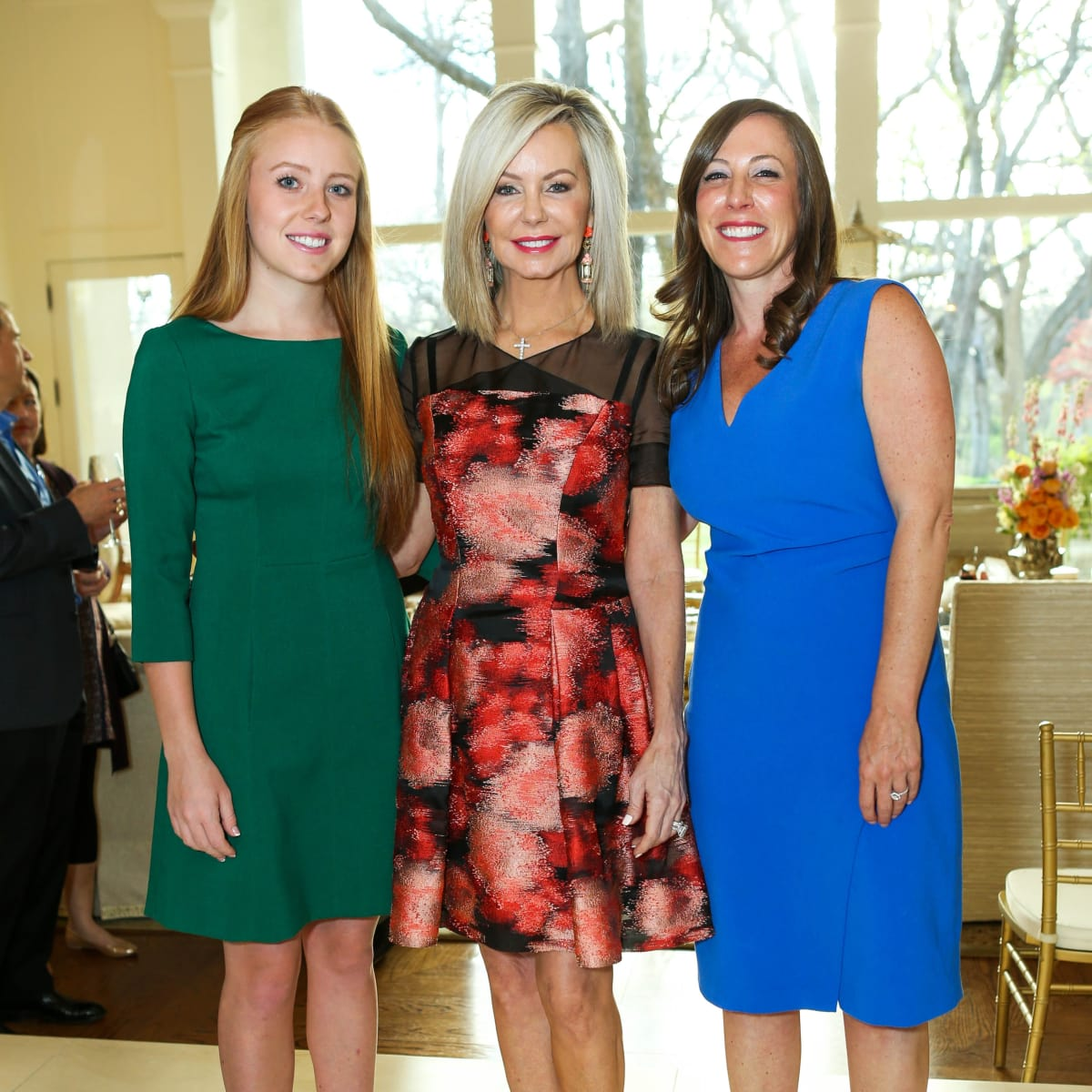 Bryan's House 30th anniversary kickoff, Lisa Cooley, Ciara Cooley, Stacey Roush