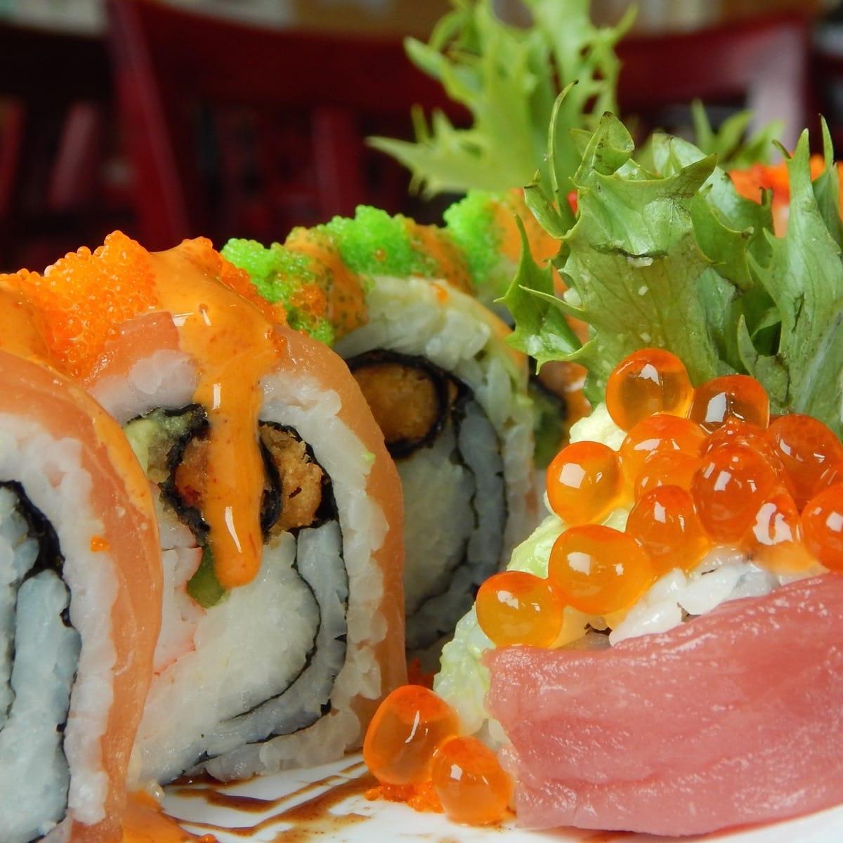 Blue Onyx Bistro sushi roll