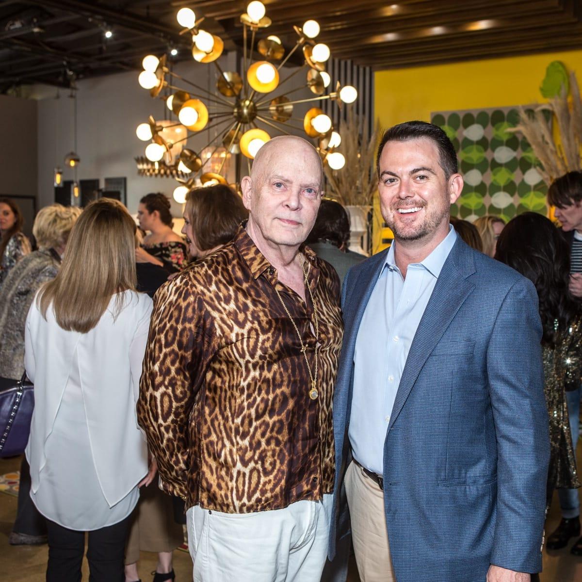 Colby McWilliams, Jim Sheehan, Arteriors Party 2018