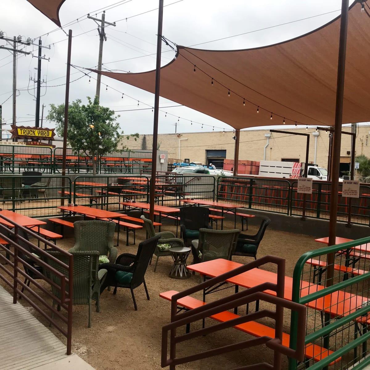 Rodeo Goat Houston patio
