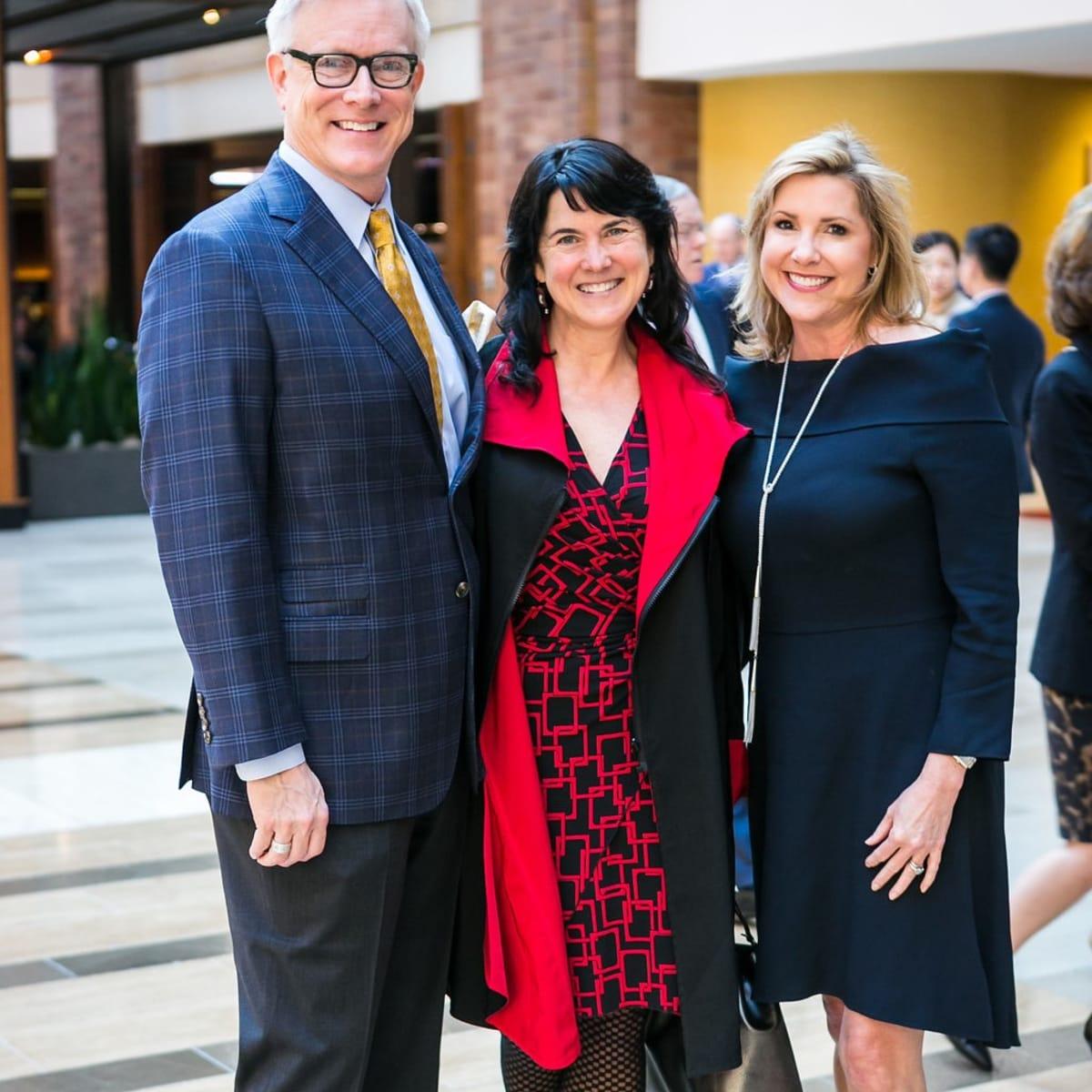 TACA silver cup luncheon 2018, Nick Even, Tara Lewis, Kirsten Rettig