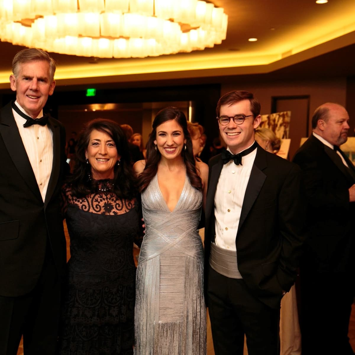 Robert and Debra Hitzelberger, DSOL President Kay Hitzelberger and Stuart R. Duenner, Slipper Club Havana Nights 2018