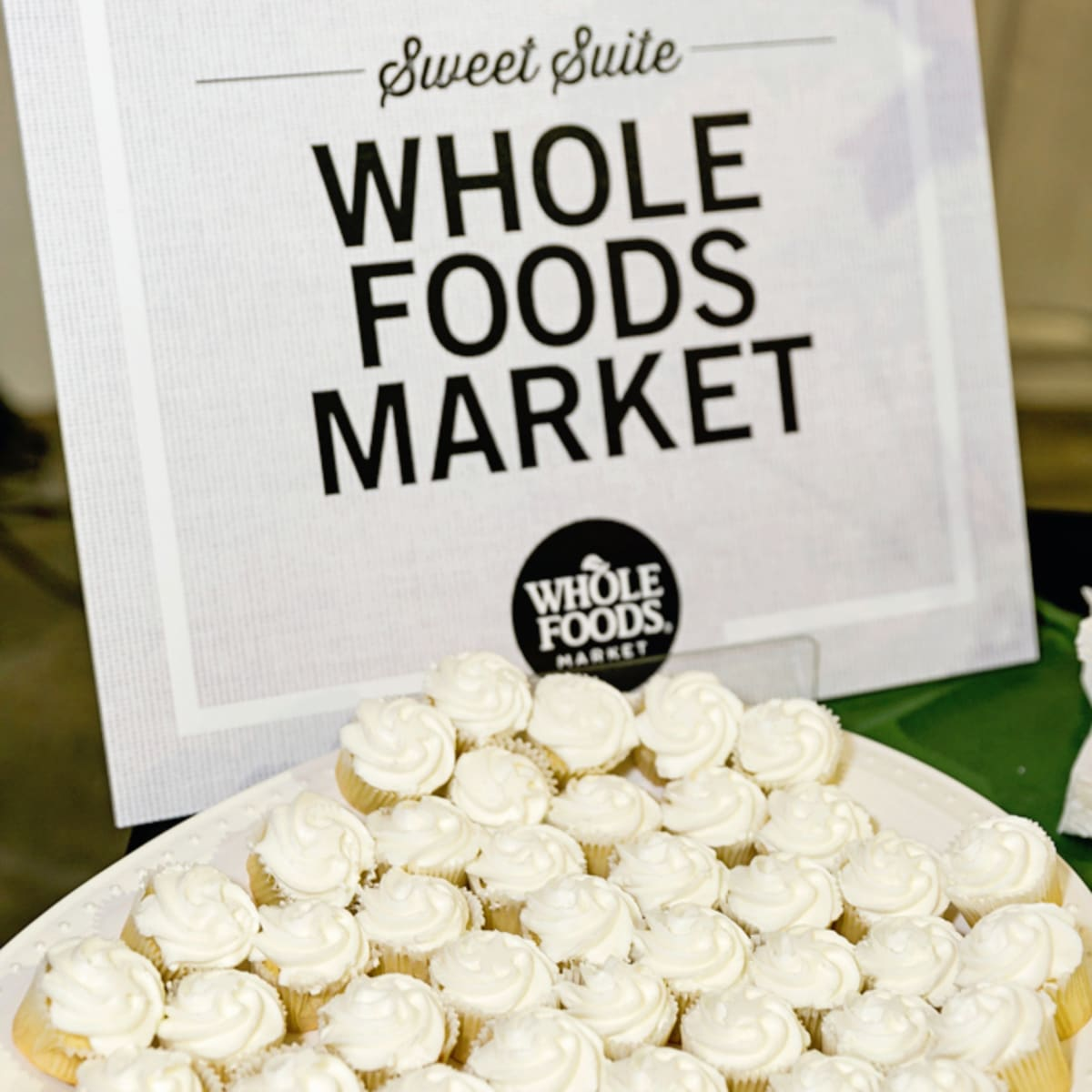 Tastemaker Awards 2018 Whole Foods cupcakes Sweet Suite
