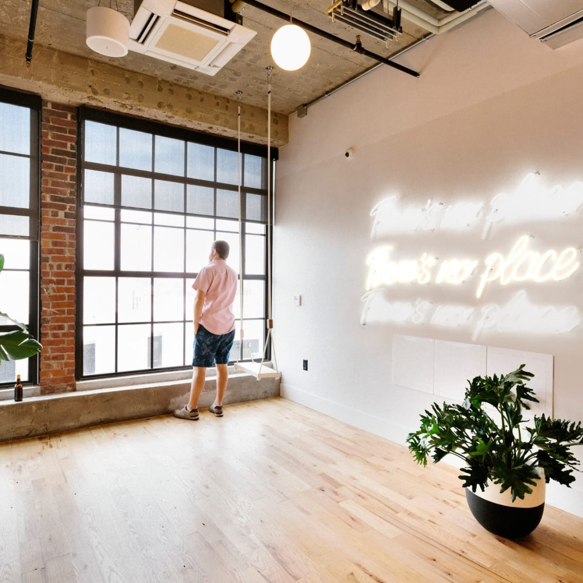 WeWork co-working, Clearfork Fort Worth