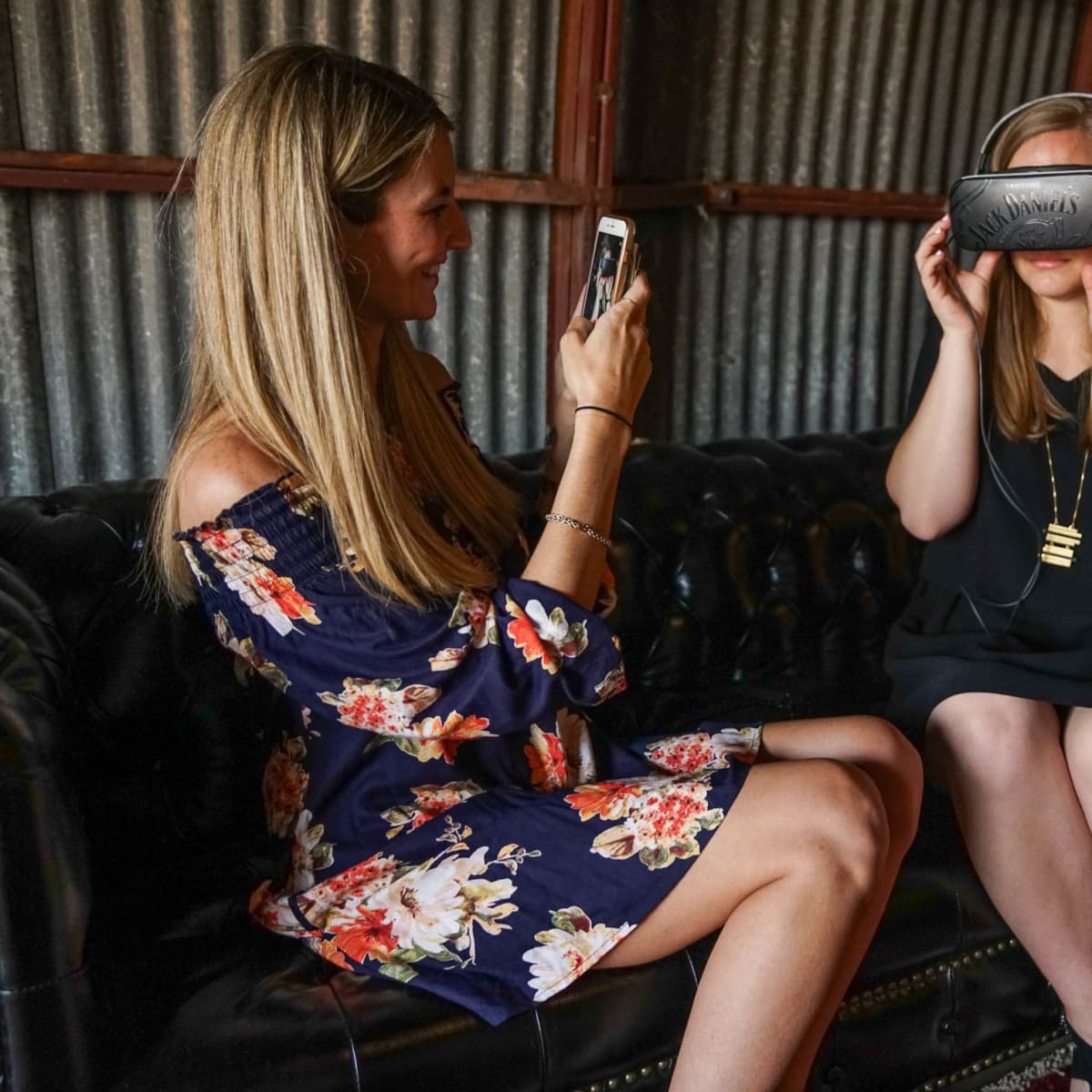 CultureMap Austin 2018 Tastemaker Awards at Fair Market Woodford Reserve Virtual Reality Jess Prescott Taylor Pass
