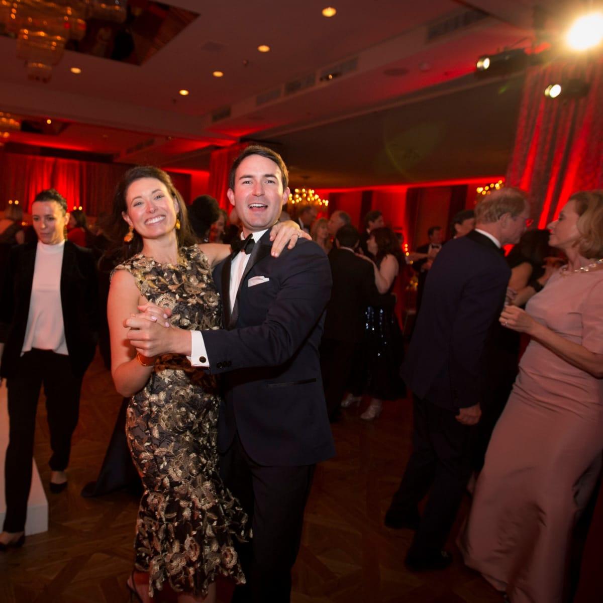 Cliburn gala 2018, Kate Thompson, Zach Crain