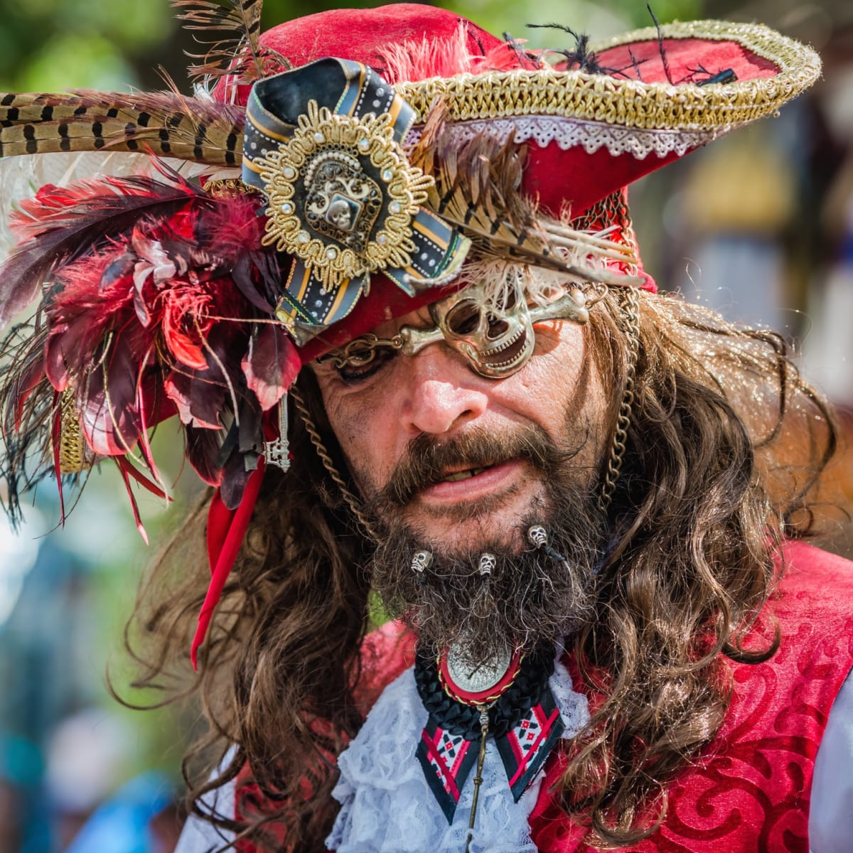 Texas Renaissance Festival pirate