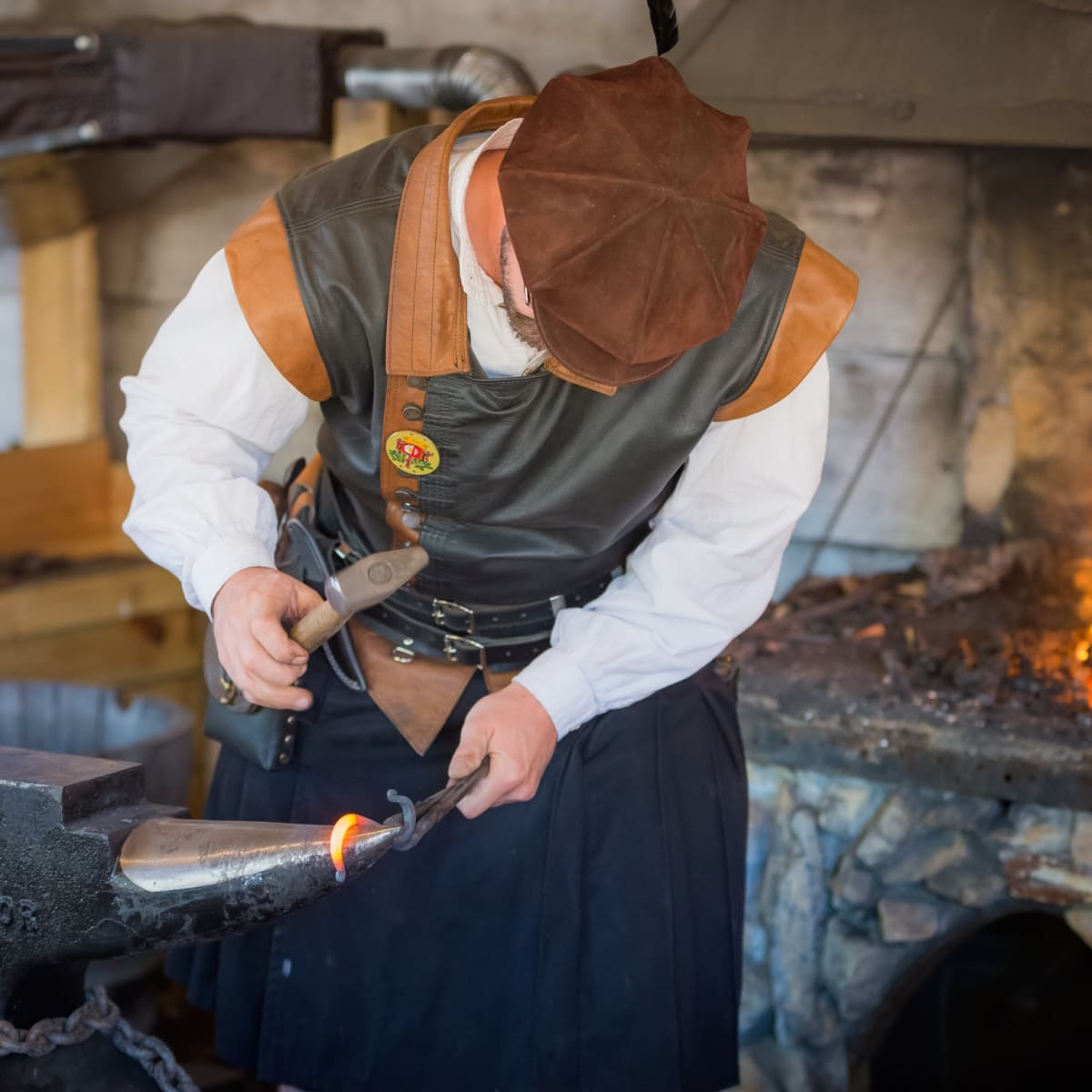 Texas Renaissance Festival blacksmith