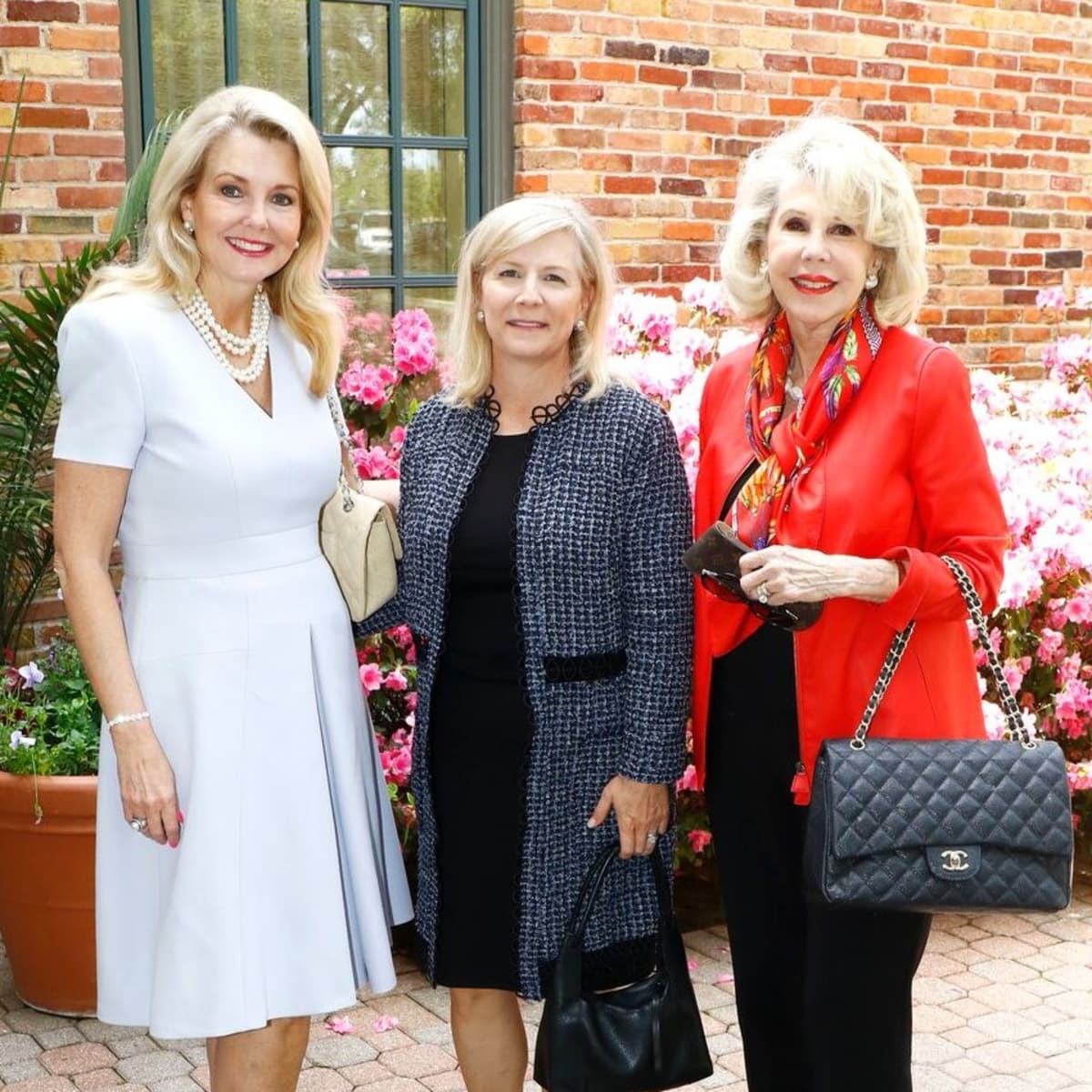 Libby Hunt, Leana Brayshaw, Sharon McCullough, PCPHS luncheon 2018