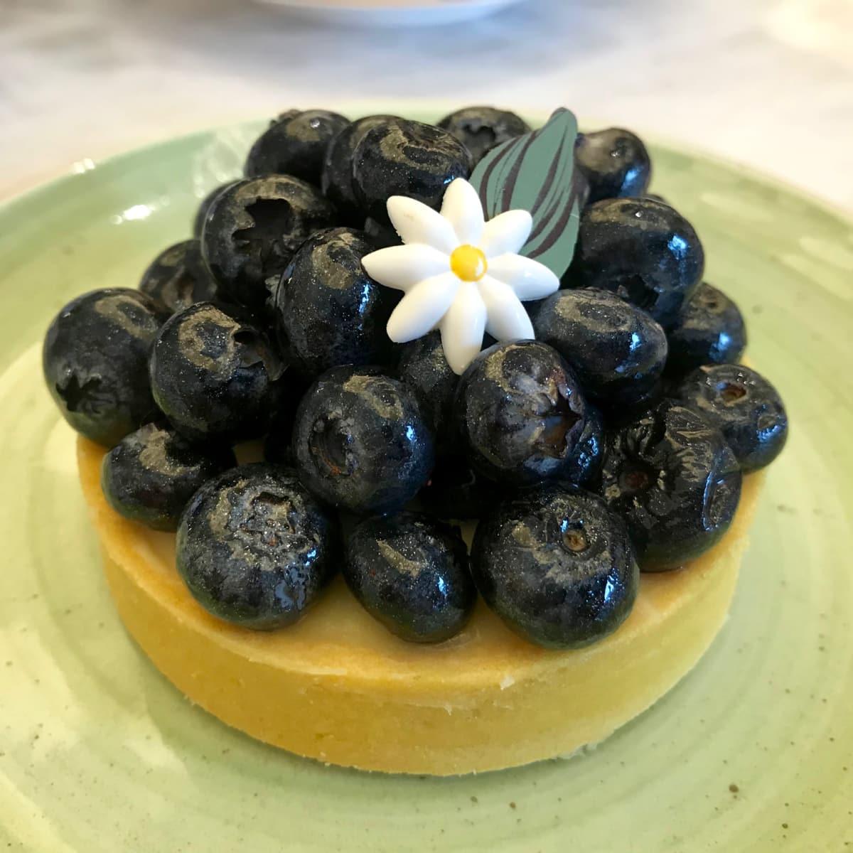 The Post Oak Bouchee fruit tart