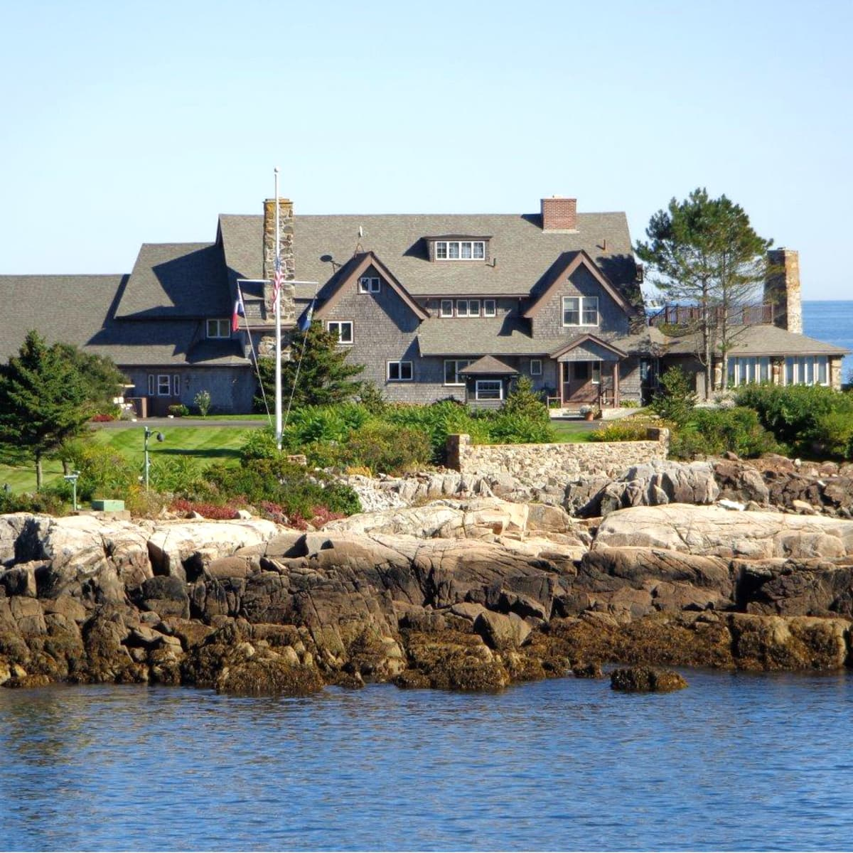 Bush family home Kennebunkport