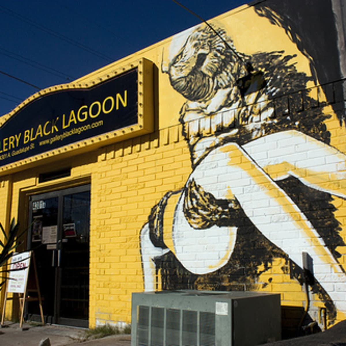 Austin photo: Places_Arts_Gallery_Black_Lagoon_Exterior