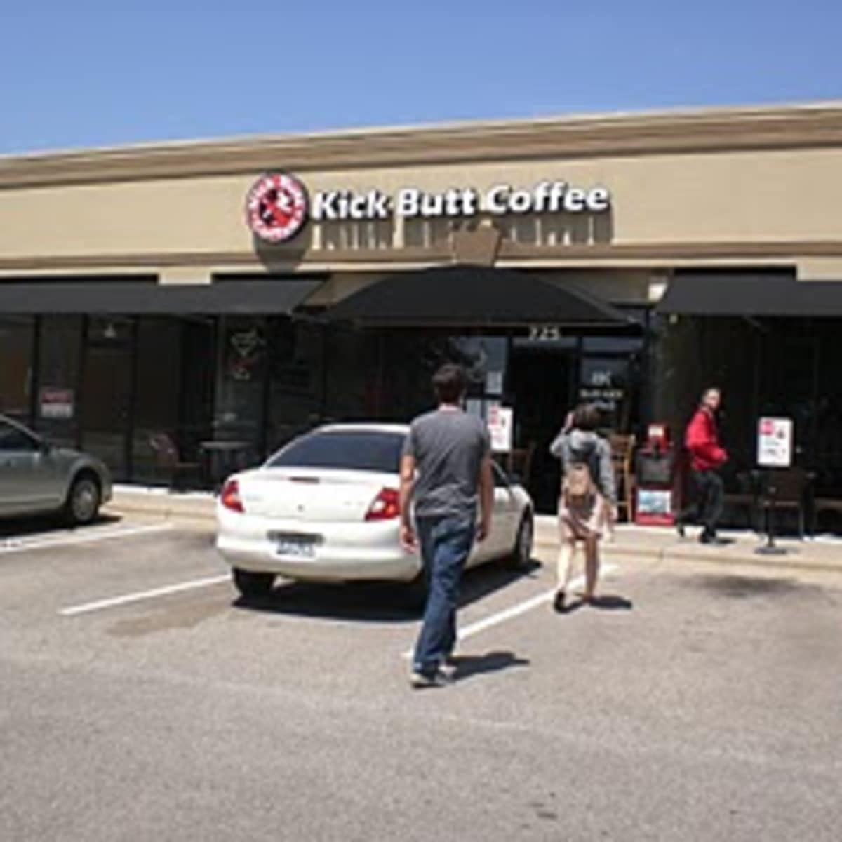Austin_photo: places_drinks_kick_butt_coffee_exterior