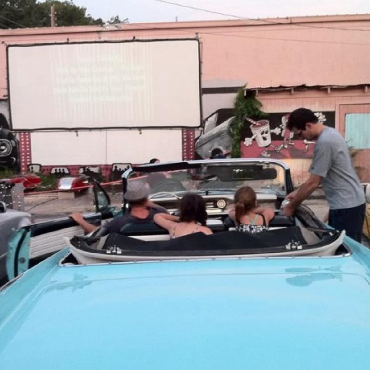 Austin photo: Places_Arts_Blue Starlite Urban Drive-in_Screen